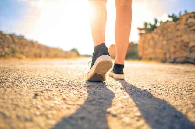 Mobilité douce à pied