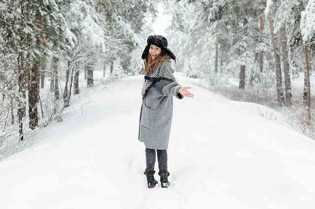 Promenade nature hiver