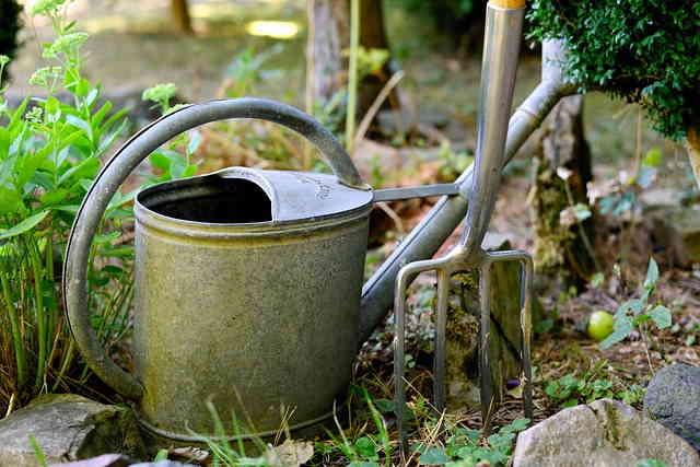 Un bon matériel s'impose pour un jardin écologique
