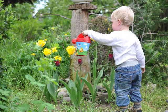 Sensibiliser les enfants au jardinage écologique