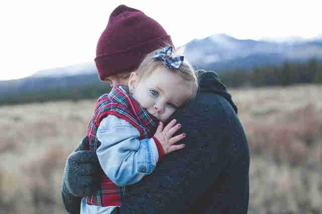 L'amour est à la base d'une éducation positive